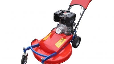 Self-propelled lawn mowers