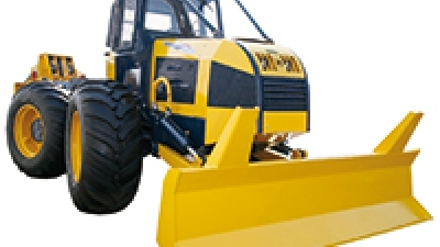 Skidder Ecotrac 120 V - Heavy duty performance