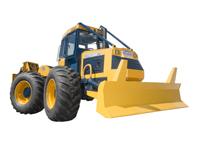 Tracteur forestier 120 V